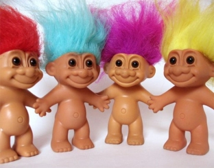 Don't feed the internet trolls... they're not as cute as THESE trolls