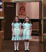 Those icky twins from The Shining. Eew.
